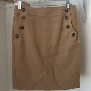 Tan Loft Skirt
